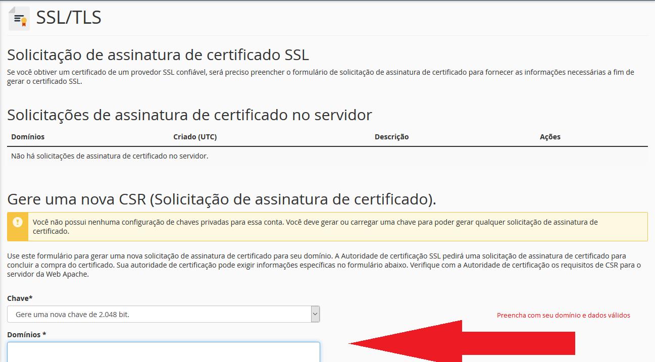 Formulário CSR