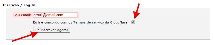 cloudflare no cpanel ativar